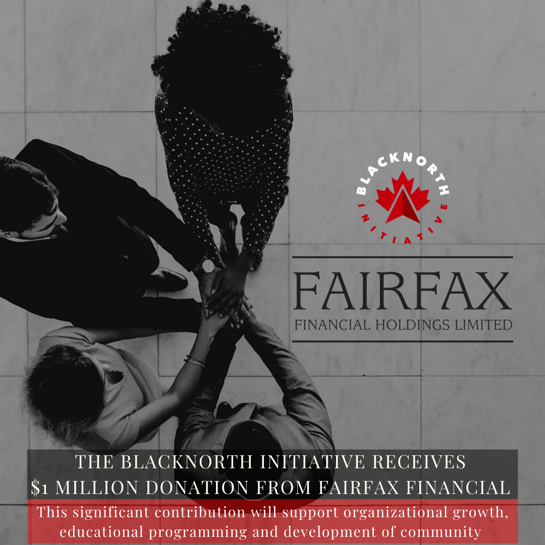 The BlackNorth Initiative Receives $1 Million Donation From Fairfax Financial