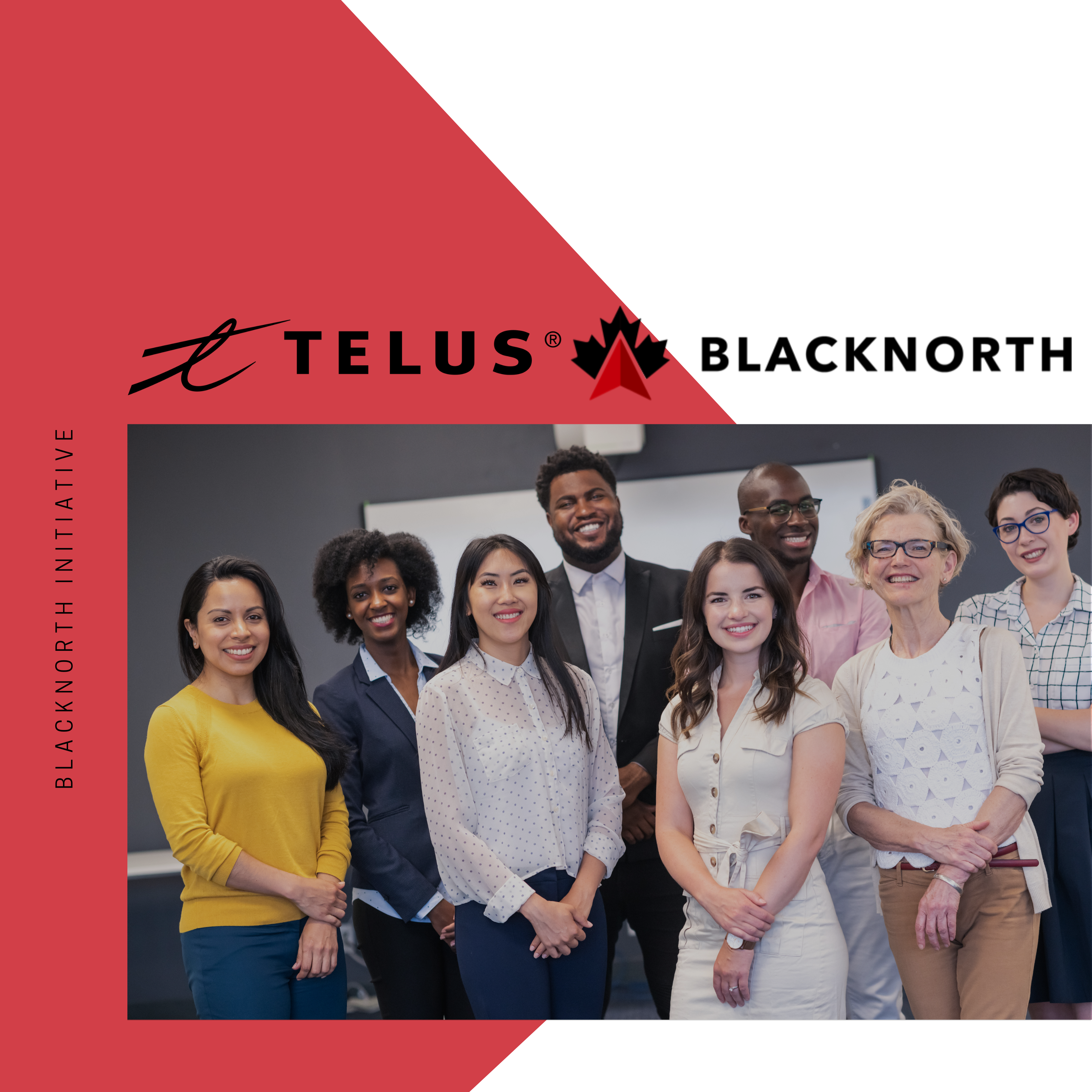 BlackNorth Initiative congratulates TELUS for setting and surpassing ambitious board diversity targets for gender, visible minority and Indigenous representation