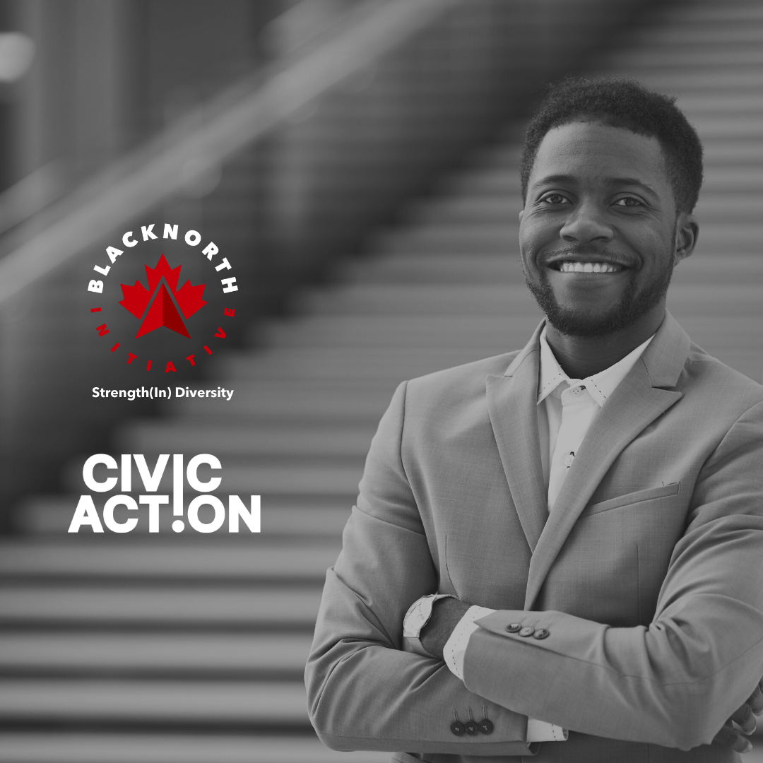 BlackNorth Initiative and CivicAction Partner to Increase Black Leadership Opportunities and Representation in Canadian Workplaces